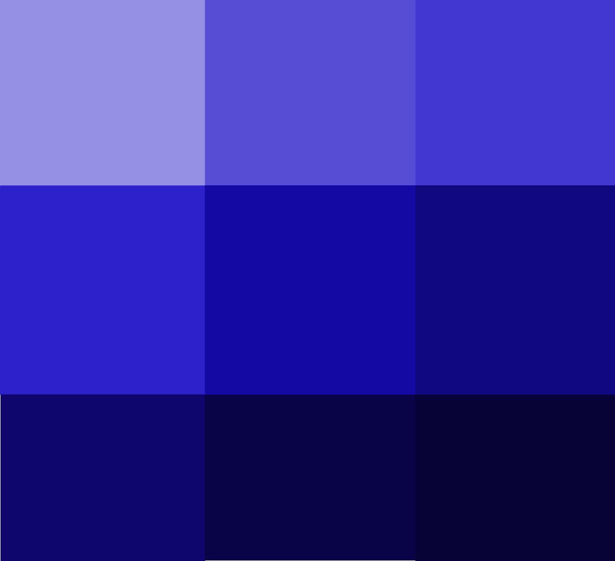 Tünd mavi